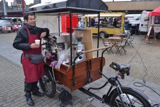 ©Barry Sandland/TIMB - Café Velo at Gare Midi, Brussels, Belgium