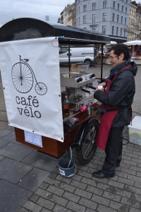 ©Barry Sandland/TIMB - Coffee cargo bike