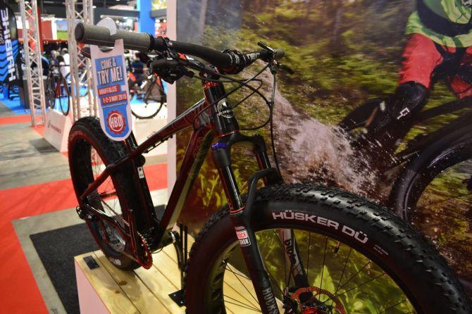 Mountain bike at the Velofollies.