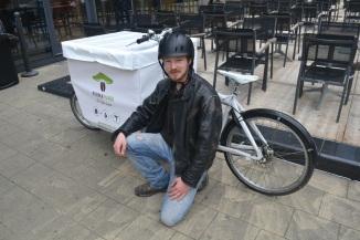 ©Barry Sandland/TIMB - Bullit cargo bike used as mushroom transporter
