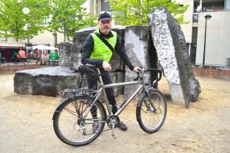 ©Barry Sandland/TIMB - Heavy duty touring bike with rider