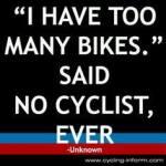 I have too many bikes