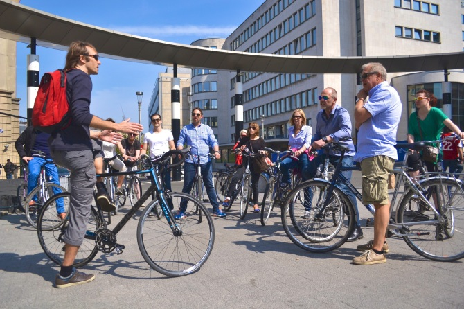 Barry Sandland/TIMB - Bike tour by Pro Velo of Brussels, Belgium