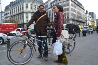 ©Barry Sandland/TIMb - Tandem bike with driver and passenger