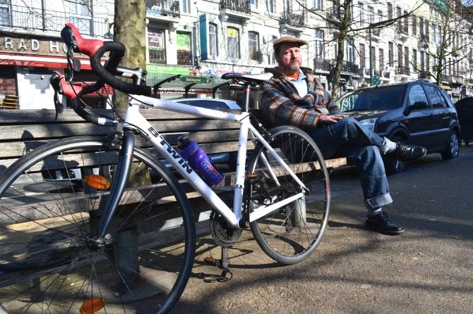 ©Barry Sandland/TIMB - Man with bike
