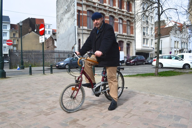 ©Barry Sandland/TIMB - DIY bike on the road in Belgium