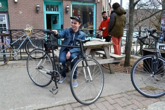 @Barry Sandland/TIMB- Fixie rider in Newfoundland