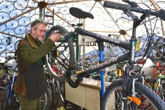 ©TIMB - Yellowknife geodesic dome bike shop
