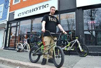 @Barry Sandland/TIMB - BMX with rider in Newfoundland