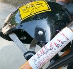©Barry Sandland/TIMB - Helmet and bike as sticker subjects