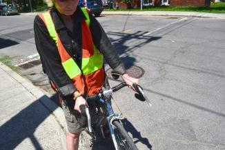 ©Barry Sandland/TIMB - Woman with her vintage bike in Ottawa