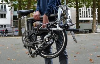©Barry Sandland/TIMB - Ahooga foldable bike