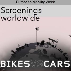 Bikes versus Cars screenings logo