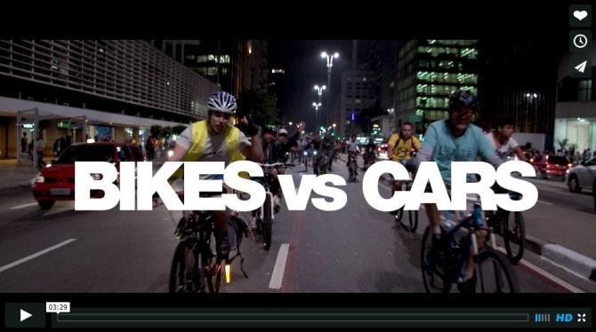 Bikes vs Cars logo