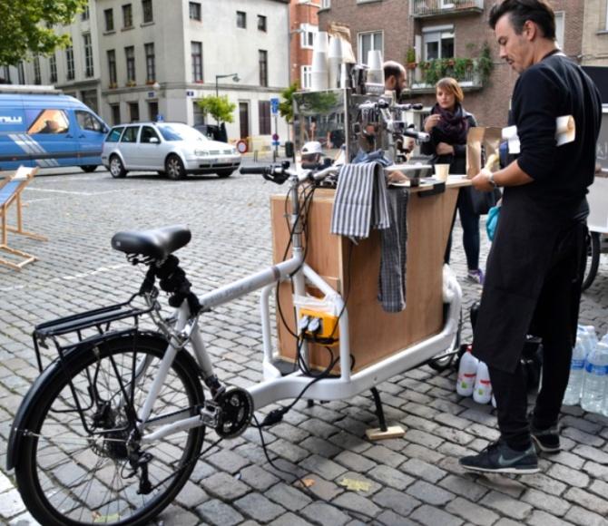 Milk Bullit bike at the MASD Bike exhibit