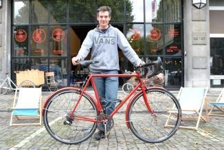 ©Barry Sandland/TIMB - Nicolas Noble and his randonneur ride at MAD Bike