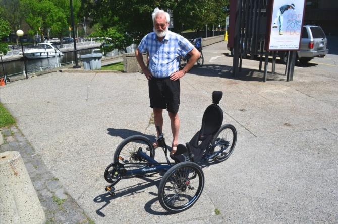 ©Barry Sandland/TIMB - BArebones HP Velotechnik tricycle