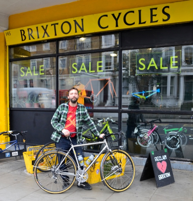 ©Barry Sandland/TIMB - Crowdfunding to help save London's oldest bike shop cooperative