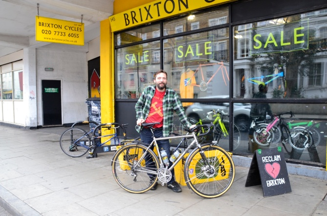 ©Barry Sandland/TIMB - A part of the Brixton, and London, community since 1983, Brixton Cycles is in search of a new home.