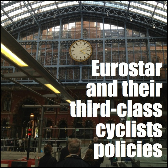 Eurostar anti-cycling policies