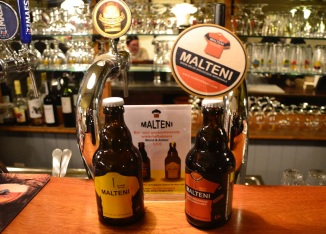 ©Barry Sandland/TIMB - Malteni beer at the Ghent six day event