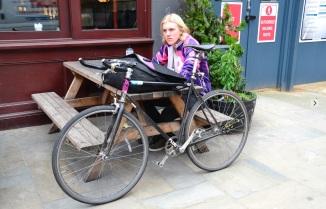 ©Barry Sandland/TIMB - Bike messenger win London, UK