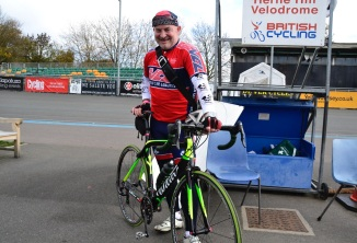 ©Barry Sandland/TIMB - Herne Hill rider and his Vilier bike
