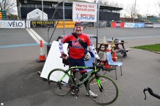 ©Barry Sandland/TIMB - Track coach alongside the Herne Hill Velodrome, London