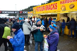 Barry Sandland/TIMB - Food section at European cyclocross event