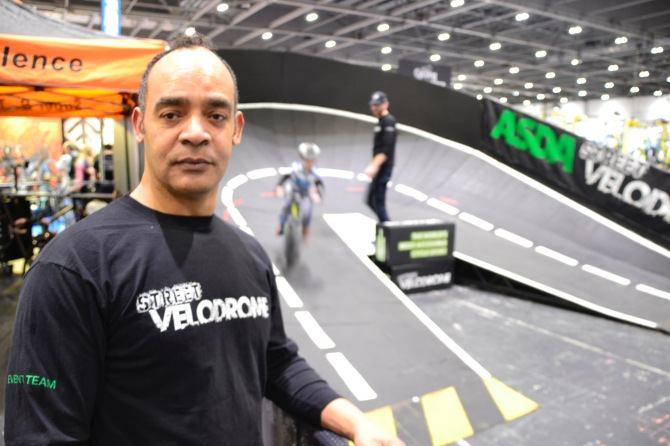 London Bike Show and the Street Velodrome exhibit