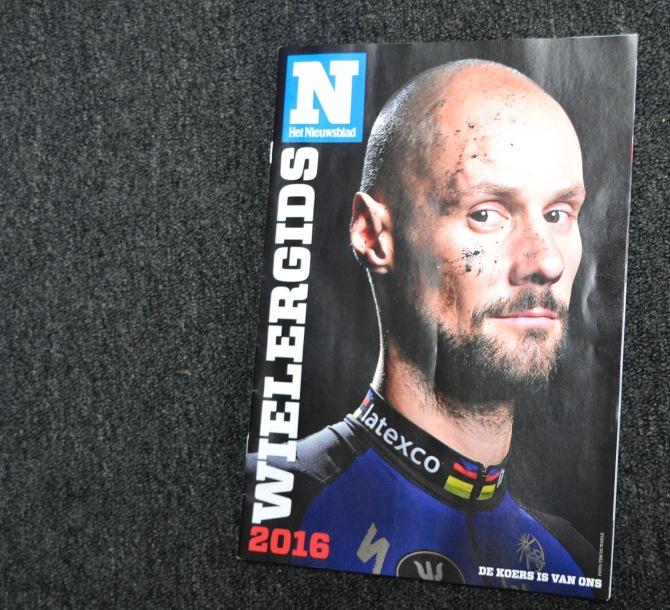 ©Barry Sandland/TMB - Nieuwsblad UCI schedule magazine