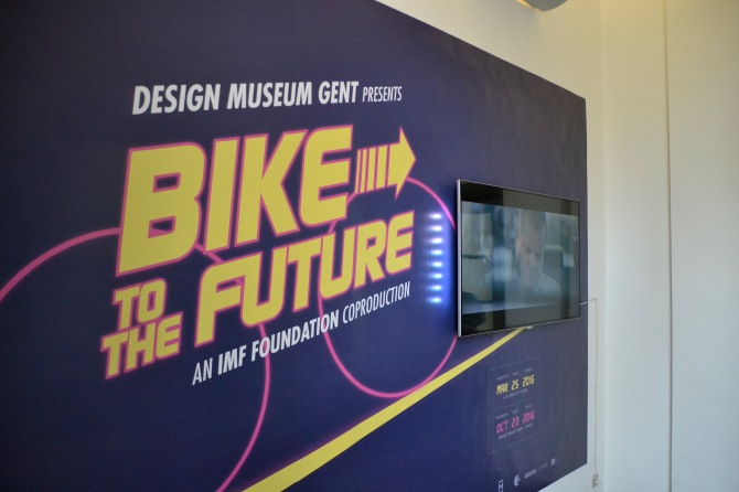 ©Barry Sandland/TIMB - Bike to the Future exhibit in Ghent