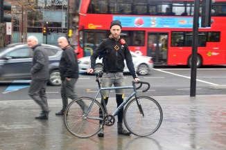 ©Barry Sandland/TIMB - Courier w his Dolan in London