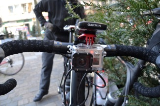 ©Barry Sandland/TIMB - On-bvoard cameras used by cyclists on their daily rides