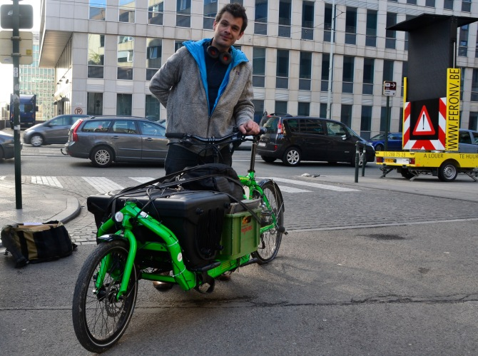 ©Barry Sandland/TIMB - Bullit cargo bike w a sound system on board