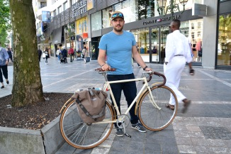 ©Barry Sandland/TIMB - Single speed commuter bike in Brussels