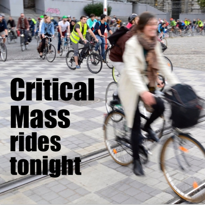 ©Barry Sandland/TIMB - Promotion image for Critical Mass rides in August